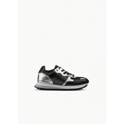A/Sneakers Métalisée