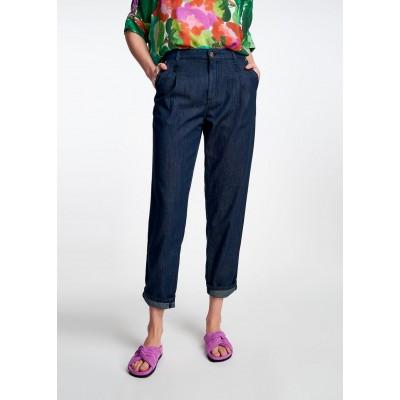Essentiel jean bleu foncé coupe ample