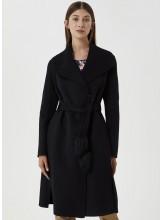 A/LIU.JO Manteau long avec pompon