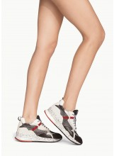 SNEAKERS  Chunky en maille filet