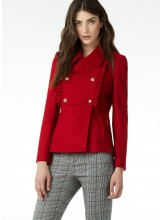 LIU JO Manteau Court rouge