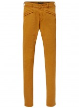 SCOTCH AND SODA Pantalon tencel doux MID RISE SKINNY FIT