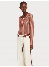 SCOTCH AND SODA Pull Striped Grandad