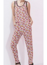 ICODE BY IKKS combi-pantalon imprimé fleuri