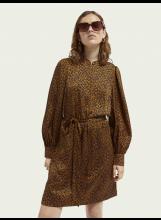 A/Robe SCOTCH AND SODA imprimée léopard