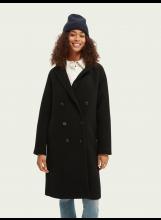 A/Manteau classique double boutonnage