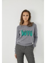 A/Pull LOVE gris Five jeans