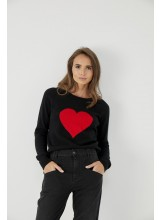 A/Pull HEART Fve jeans
