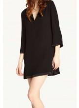 ba&sh robe ELGA noir