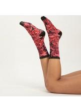 SCOK MY Roses of love-Sock my feet
