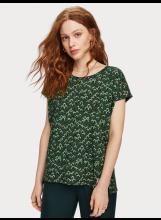 A/Tee-shirt boxy fit imprimé